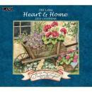 【2015年】限定カントリーカレンダー「Heart & Home ハートアンドホーム」 【完売間近・即納在庫品】