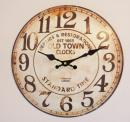 HAT TRICK ハットトリック WALL CLOCK  ボード クロック  時計 WORK HOUSE ワークハウス OLD TOWN オールドタウン (A)