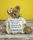 ボイズベアーU.S.A 「BEAR WITH SENTIMENT PILLOW」4015941